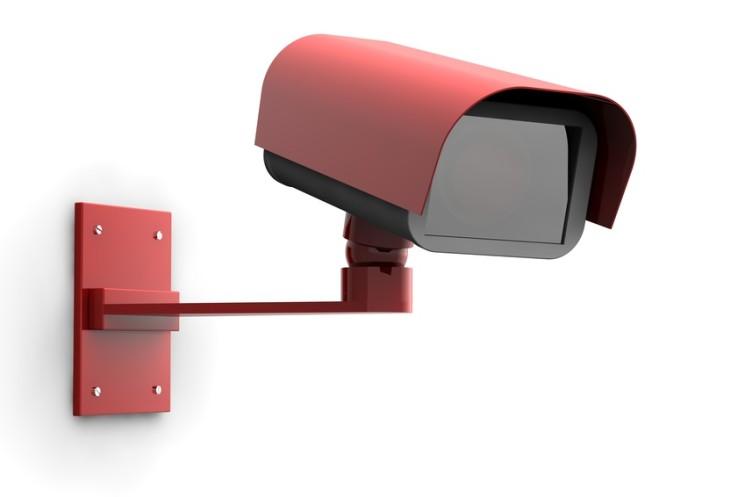 3D Überwachungskamera