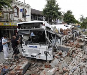 Erdbebenschäden Christchurch NZ 02-22-2011