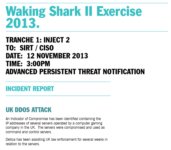 Waking Shark II Inject